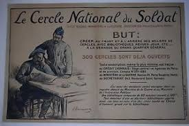 siege social credit lyonnais ww1 propaganda poster original poster le cercle national
