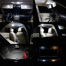 17 X Xenon White LED Interior Lights Package For Jeep Grand Cherokee ...