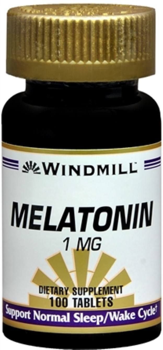 Windmill Melatonin Dietary Supplement - 100ct