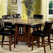 kitchen table rectangular macy sets carpet flooring chairs glass