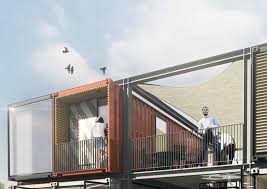 100 Shipping Containers Buildings Striking Apartment Complex Is Made Of 48 Raw Shipping Containers