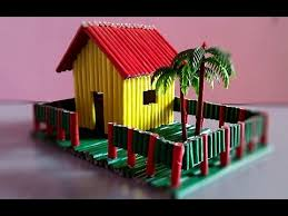how to make a paper house very easy youtube