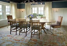 Area Rug Under Dining Room Table Carpet