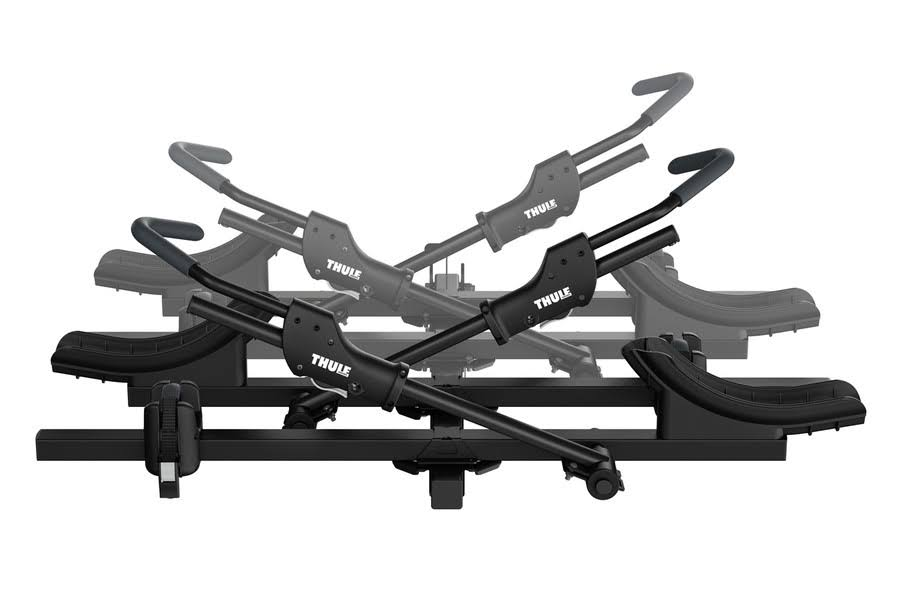 Black Thule T2 Classic 2 Add-On Bike Hitch Rack - 2""