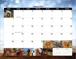 2018 Calendar | Goldheart Golden Retriever Rescue Kara Krahulik On Twitter Saw This Calendar At Barnes And Noble Jiffpom Calendar Now Facebook Bookfair Springfield Museums Briggs Middle School Home Of The Tigers Fairbanks Future Problem Solvers Book Fair Harry 2017 Desk Diary Literary Datebook 9781435162594 Gorilla Bookstore Bogo 50 Red Shirt Brand Pittsburg State Tips For Setting Up Author Readings Signings St Ursula Something Beautiful A5 Planner Random Fun Stuff Dilbert 52016 16month Pad Scott Adams Color Your Year Wall Workman Publishing