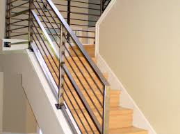 Stair: Elegant Staircase Design Ideas With Contemporary Stair ... Contemporary Railings Stainless Steel Cable Hudson Candlelight Homes Staircase The Views In South Best 25 Modern Stair Railing Ideas On Pinterest Stair Metal Sculpture Railings Railing Art With Custom Banister Elegant Black Gloss Acrylic Step Foot Nautical Inspired Home Decor Creatice Staircase Designs For Terrace Cases Glass Balustrade Stairs Chicago Design Interior Railingscomfortable