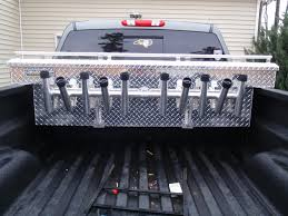 Truck Bed Toolbox Rod Rack - The Hull Truth - Boating And Fishing ... Undcover Ridgelander Hinged Tonneau Cover Yrak And Rod Holders Nissan Frontier Forum Storage Bed Walmart Frames With Queen Easy Drapes For Truck Camper Shell 5 Steps Toolbox Mounting Rod Holder Amazoncom Portarod Inshore 5rod Fishing Custom Yangler Fly Pictures Rocket Launcher Holder Titan Pickup Truck Transport 1piece Rods Beach Buggy Surftalk Royal Century Caps Tonneaus