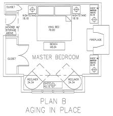 Size Master Bedroom Closet