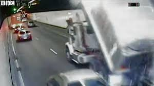 Australian Dump Truck Driver Smashes Into Sydney Tunnel Roof After ...
