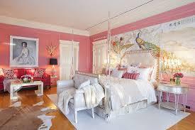 View In Gallery Opulent Victorian Bedroom Pink Design Woodson Rummerfields House Of