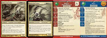 As Of July 2008 They Released A Dungeons And Dragons Icons Legend Drizzt Scenario Pack Which Comes With 5 Full Color Game Stat Cards I Was Very Tempted