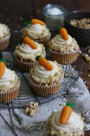 Karottenkuchen Carrot Cake Cupcakes Bake To The Roots