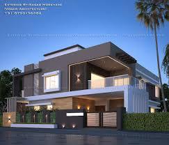 100 Modern Hiuse Residential House Bungalow Exterior By ArSagar Morkhade