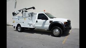 2010 FORD F-550 MECHANICS TRUCK CRANE UTILITY SERVICE TRUCK FOR SALE ...