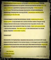 Found Poetry James Joyce Ulysses 001