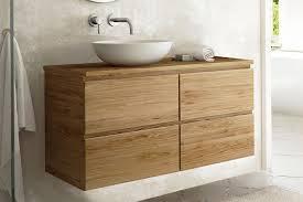 uno waschtischunterschrank aus teakholz 4 schubladen spa ambiente