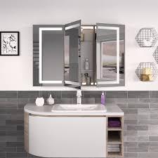 badezimmer spiegelschrank mit led rameo