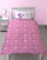 PEPPA PIG Happy Single Bed Reversible Panel Quilt Set
