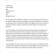 Mortgage mitment Letter Letters Format for Mortgage mitment