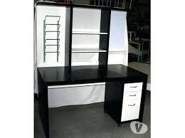 bureau blanc et bureau blanc et noir ikea caisson clasf for conforama bim a co