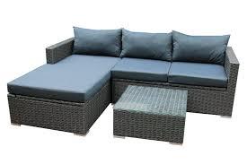 Sirio Patio Furniture Covers by Sirio Urban Grey 4 Piece Patio Furniture Set Sectional Amazon
