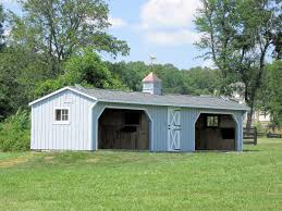 Loafing Shed Kits Utah by Run In Sheds Amish Built Horse Barns And Sheds