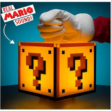 Mario Question Mark Block Lamp by Super Mario Question Block Light England At Home