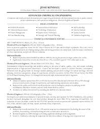 Resume Format For Chemical Engineer Samples Engineers Example Our 1