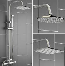 Bathtub Splash Guard Uk by Thermostatic Shower Unit Mixer Modern Bath Tap Twin Head Http
