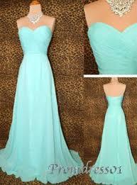 simple a line light blue chiffon lo prom dresses 2015 long prom