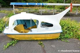 Kansai Airport Sinking 2011 by Abandoned Pedal Boat Abandoned Kansai