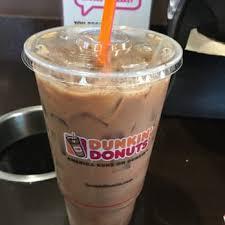 Large Pumpkin Iced Coffee Dunkin Donuts by Dunkin U0027 Donuts 230 Photos U0026 190 Reviews Donuts 5010
