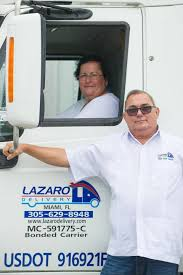 Gateway City/Who's Here: Miami-based Lazaro Delivery Serves Large ... Truck Driving Jobs West Palm Beach Cdl A Al Wheres All The Debris From Hurricane Irma Going Wlrn Nice Special Guides For Those Really Desire Best Business School Trucking Employment Opportunities Bread In Word 2018 Selfdriving Trucks Are Now Running Between Texas And California Wired Driver Resume Example Livecareer Otr Job Description Suntecktts Template Logistics Analyst Re Rumes Elite Carrier Services Tag Application Permitting Austin Cindric Not Worried About Phoenix Focused On Biggest Transportation Manager Safety Sample