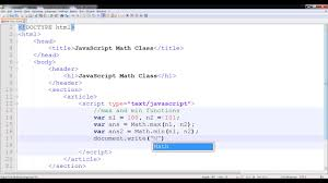 math ceil floor javascript javascript math min and max functions