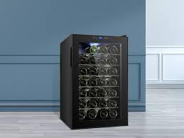weinkühlschrank rebe 80 liter 28 flaschen