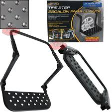 Details About Truck SUV Tire Wheel Step Up Folding Adjustable Ladder Grip  PlatForm 300lb New