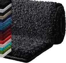 casa pura badematte hochflor sky soft weicher flauschiger badezimmerteppich in shaggy optik badvorleger rutschfest waschbar schadstoffgeprüft