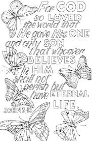 Christian Bible Verse Coloring Pages