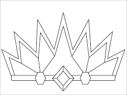 Crown Coloring Page To Print