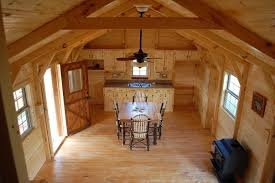 14x40 Cabin Floor Plans by 7 Beautiful Modular Log Cabins From Amish Cabin Company Tiny Houses
