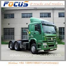 Best China Tractor Truck, HOWO A7 Tractor Head For Towing Semi ...