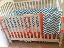 Teal And Coral Baby Bedding by Leopard With Teal Baby Bedding Teal Baby Bedding Cool In Sumer