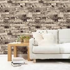 vintage brique papier peint pour les murs 3 d en rouleaux salon de