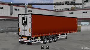 European Trailers Pack V 1.0 For Euro Truck Simulator 2