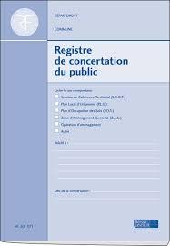 bureau registre des entreprises registre de concertation du concertation publique