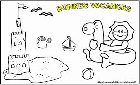 Coloriage Vacances De Printemps