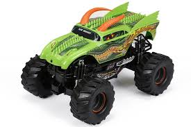 1:15 R/C Full Function Monster Jam Dragon Truck - Green (61030DR ... New Bright Rc Radio Control Monster Jam Truck Mutt Amazoncom Ff Bursts Grave Digger 115 Full Function Dragon Green 61030dr 114 Silverado Walmart Canada Buy Zombie 2015 Bright Rc Monster Truck Remote Toys Compare Prices 4x4 Mini Car 16 Vw Transformed To Rcu Forums Goes Brushless With The Frenzy Newb 18 Scale 4 X Mega Blast Red Black Chrome Commercial 2016 96v 110