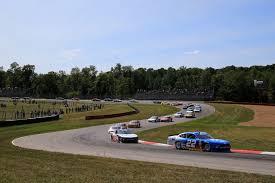 100 Cowen Truck Line NASCAR Xfinity Series Tim Talks MidOhio Race In Interview