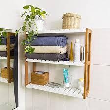 sobuy estantería de pared estantería de baño librería