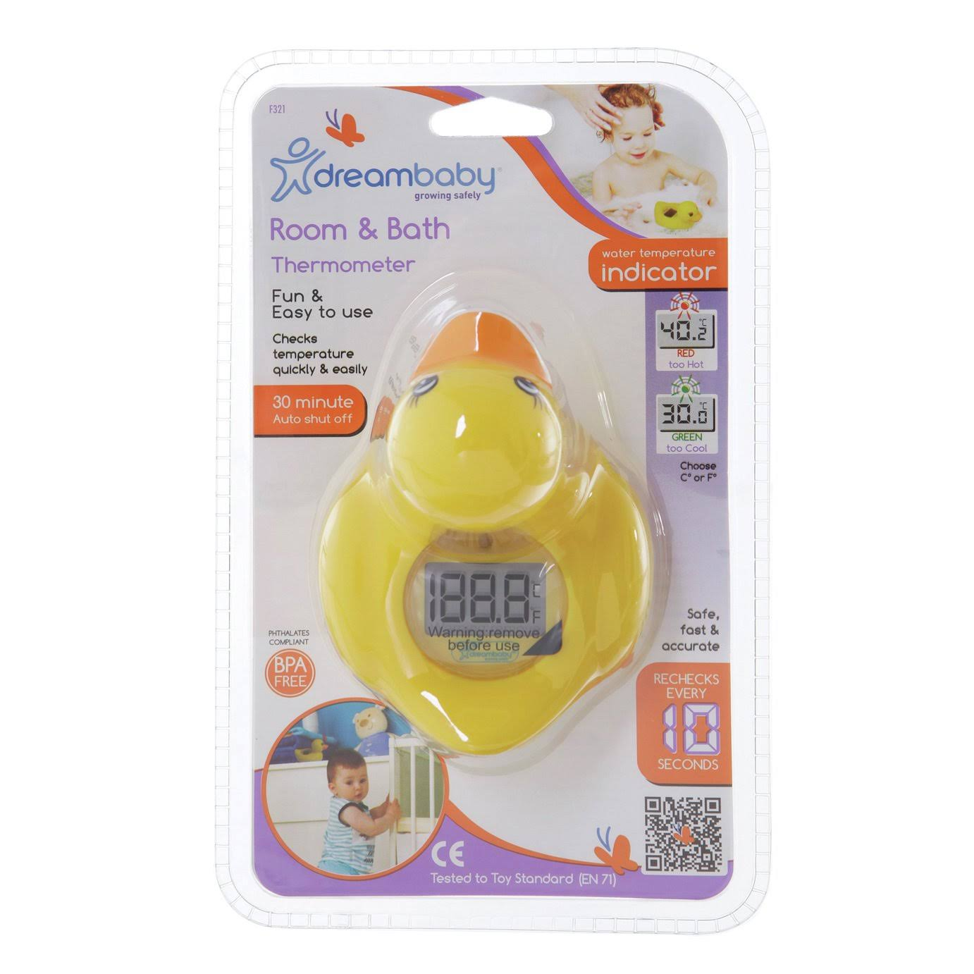 Dreambaby Bath Thermometer - Duck